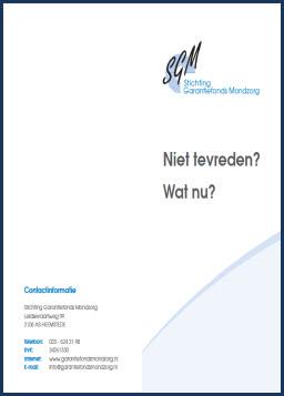 brochure SGM_downloads TPPvkleef Groningen | Veendam